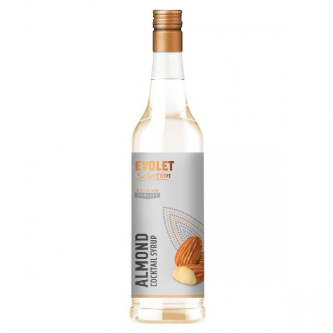 Sirop Cocktail Evolet Selection, Almond